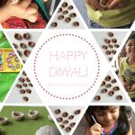 Deepavali / Diwali - bake your own Diyas. Kid-friendly activities