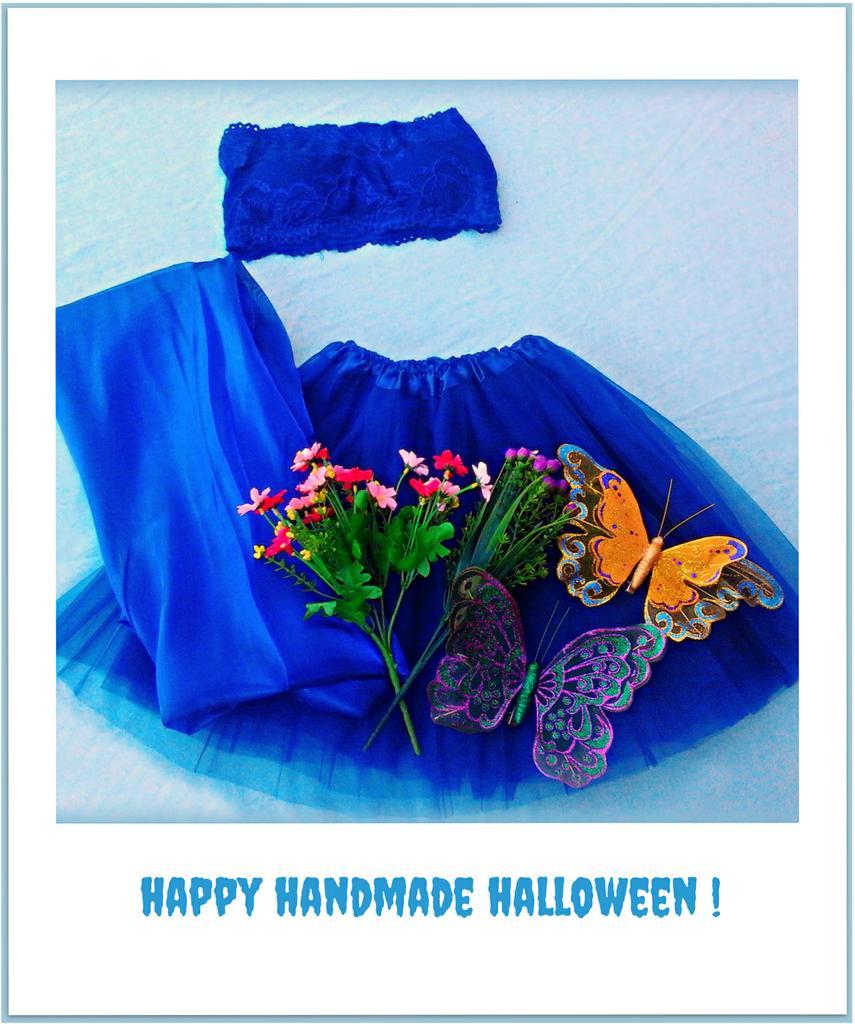 halloween costume - woodland fairy