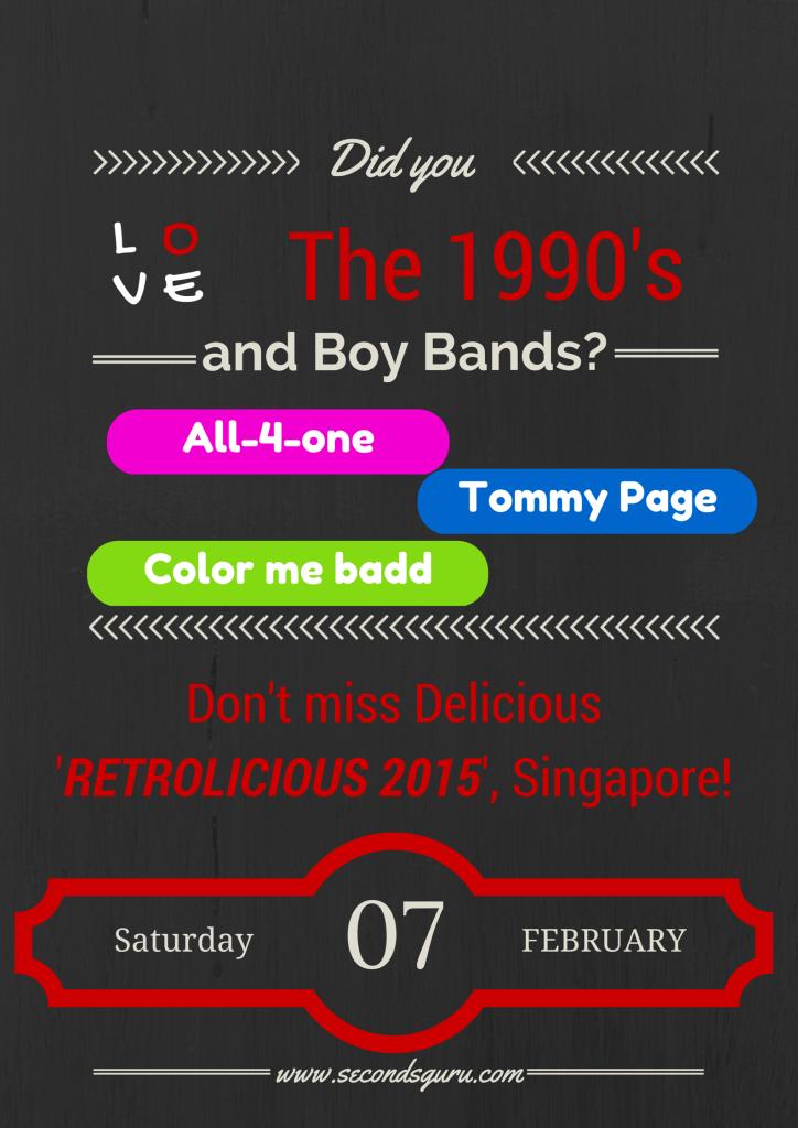 Events: Retrolicious 2015, Singapore