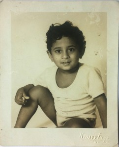 A photo of me when I was about 4, taken at Delhi's famous Kinsey Bros studios. I bet I drove the photographer nuts by refusing to stay still. I've got my comeuppance now as a photographer, of course