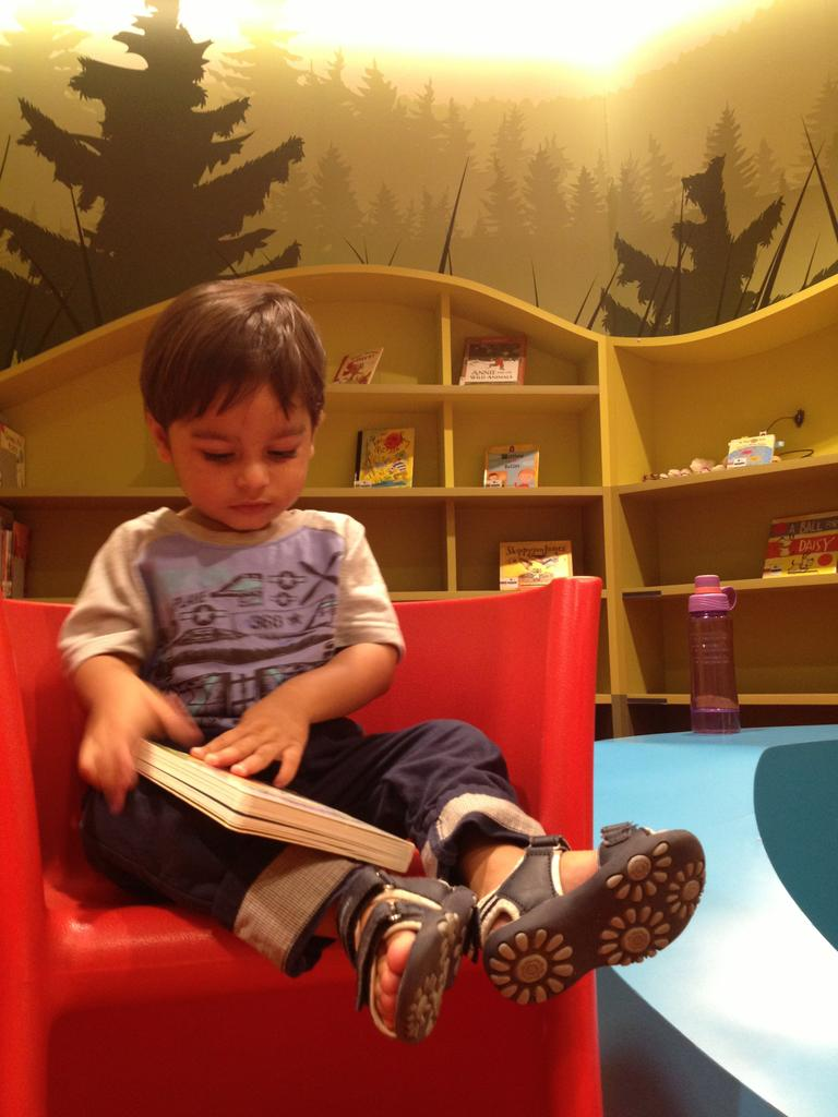 My Treehouse at the National Library is the perfect place for kids - and toddlers - to fall in love with books