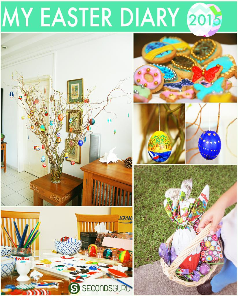 Come Easter, and the humble egg transforms itself into something bigger - into a tradition that families pass on over generations, into a ritual that builds fond memories, into posed (and unposed!) moments that that fill the photo album