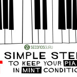 Tips & Tricks   Wondering how to keep your piano in mint condition? 4 simple tips to take care of your piano and keep it sounding pitch perfect for yours to come!