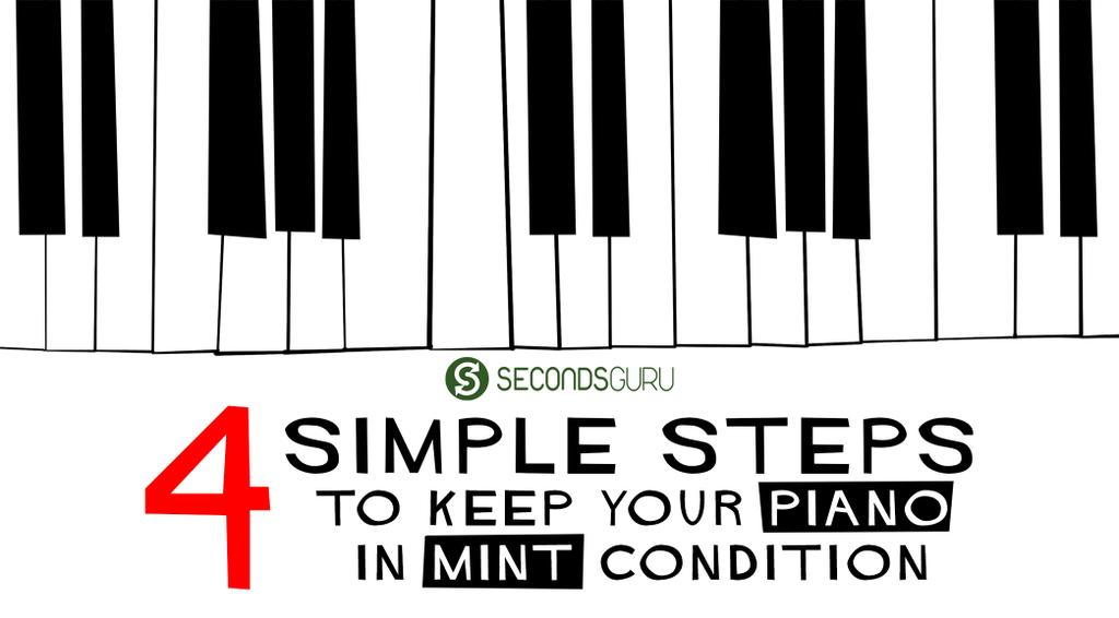 Tips & Tricks | Wondering how to keep your piano in mint condition? 4 simple tips to take care of your piano and keep it sounding pitch perfect for yours to come!