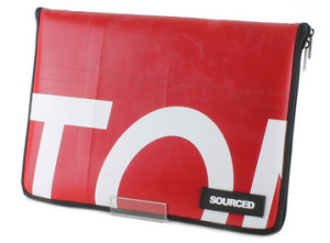 Eco-Friendly Gifts for Him: Upcycled Tarpaulin MacBook Case
