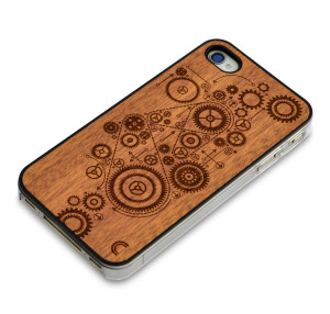 Eco-Friendly Gifts for Him: Wooden iPhone case by CraftedCover