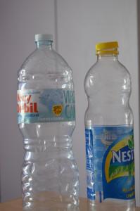 Upcycle used plastic bottles