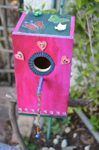 DIY | Jazz up your old Birdhouse