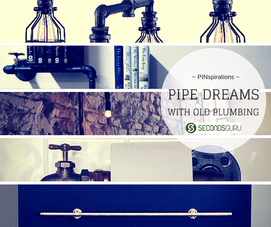 PINspirations|Pipe dreams with old plumbingPINspirations|Pipe dreams with old plumbing- Looking for a conversation pieces for your home? Check out our Pinspirations on cleverly repurposed pipes to get your hacker juices flowing.