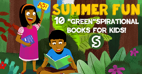 Our pick of 10 green books to read to your kids this summer! These Earth-friendly stories will inspire budding environmentalists, teach little ones about sustainability and encourage them to be kind to Mother Nature.
