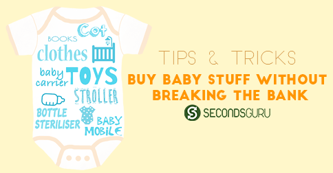 Buy Baby stuff without breaking the bank!| Before you go and bankrupt yourself before the baby has even been born, consider buying these items #preloved!