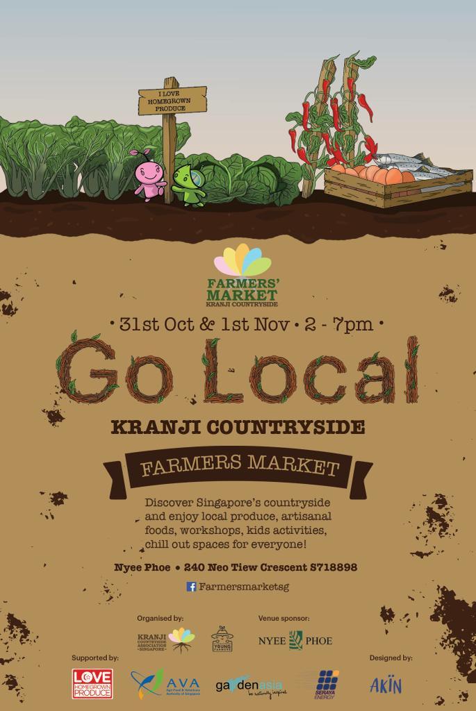 Secondsguru|Kranji Countryside Farmers' market