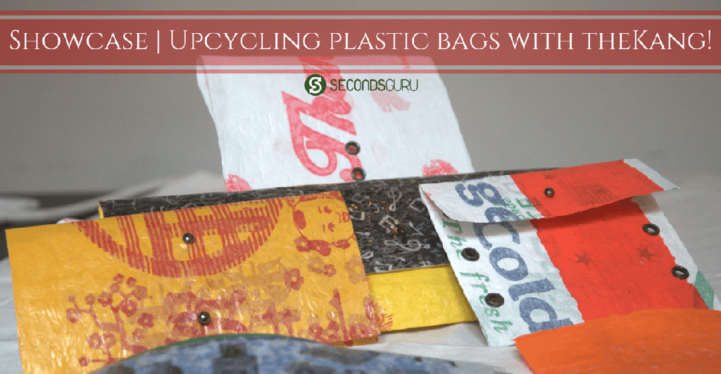 Upcycling plastic bags with theKang