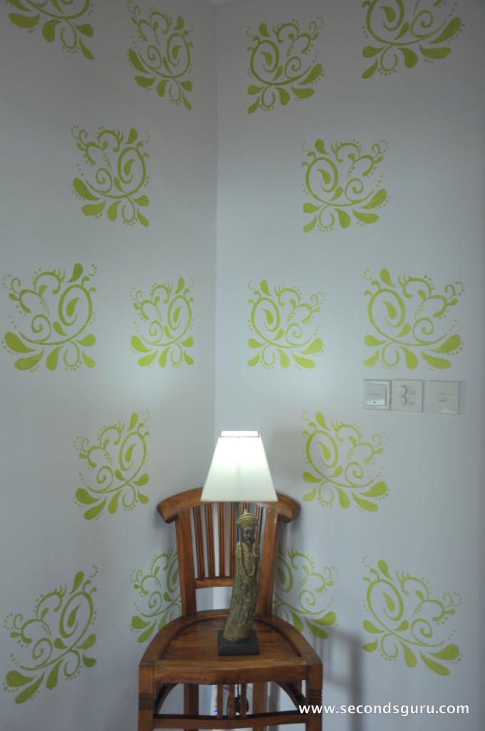 Wall Stencil DIY