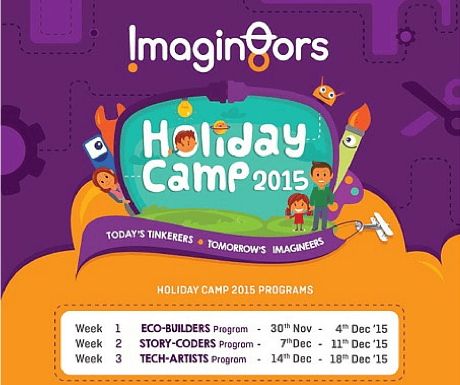 Holiday Camp 2015 by Imagin8ors