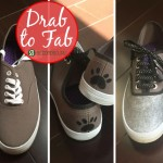 Drab to Fab | Transform boring sneakers into a style statement with a little imagination and within a small budget in this DIY project!