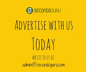Advertise on Secondsguru