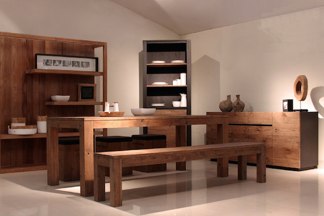 Mountain Teak eco-friendly furniture - Dining range