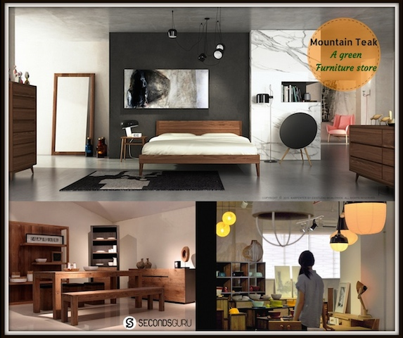 Mountain Teak - an eco-friendly furniture store