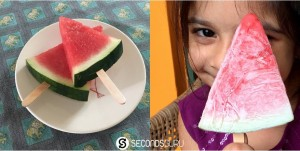 Sweet snacks made without any processed sugar | It doesn't get any easier than watermelon pops!