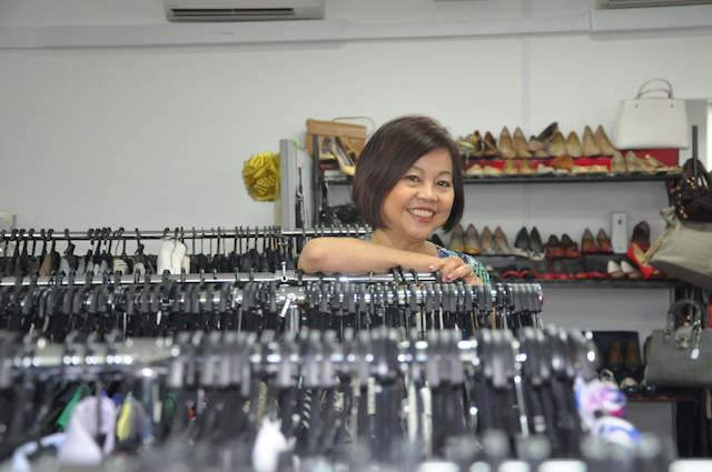 Ms Pang Li Kin the founder of Image Mission which runs Dress for Success Singapore
