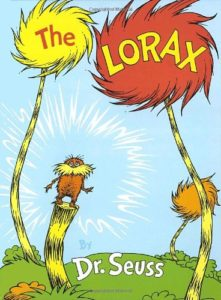 the lorax - Dr Seuss