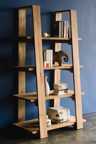 Reclaimed teak wood bookmark dBodhi Journey east