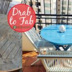Drab to Fab |Weathered furniture gets a new lease of life in this easy DIY project. From sun-burnt teak table to a Grecian blue patio delight!