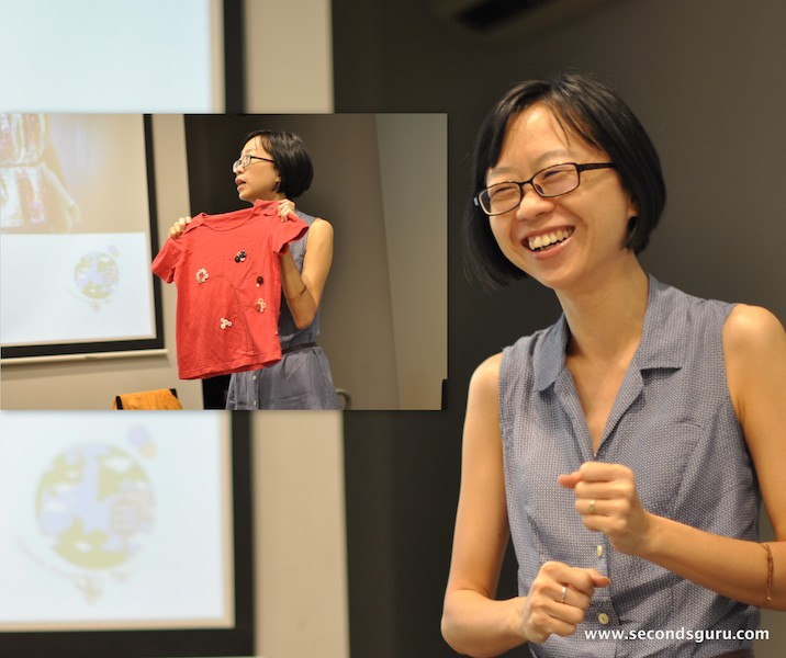 Agatha Lee at restyle your wardrobe singapore