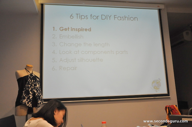 DIY Clothes restyling tips
