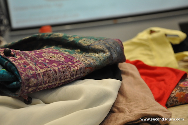 How to upcycle pre loved clothes