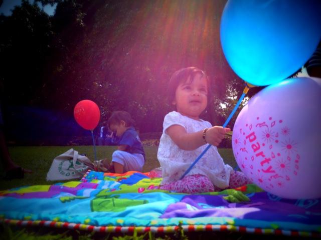 outdoor parties are always fun