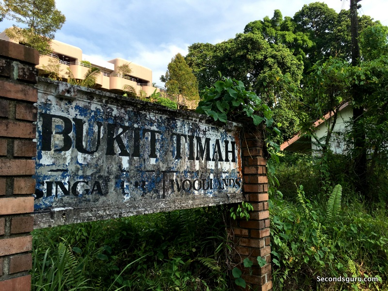 Walking the Green Corridor, Singapore | Bukit Timah Railway Station