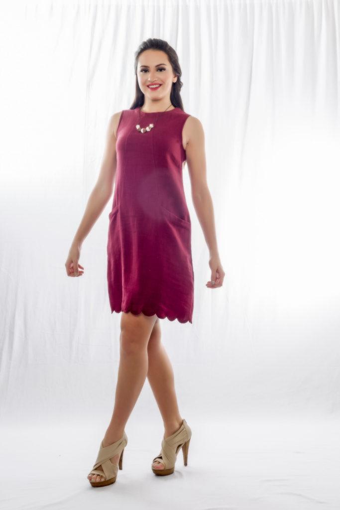 linen dress, Santorini, zhai