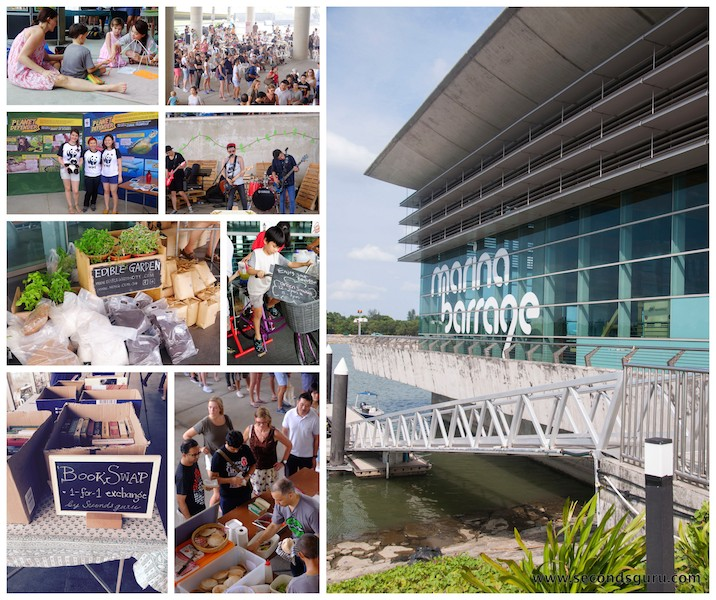 Secondsguru earthfest marina barrage singapore sustainability fair