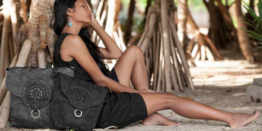 smateria upcycled fish net bags, eco friendly, secondsguru