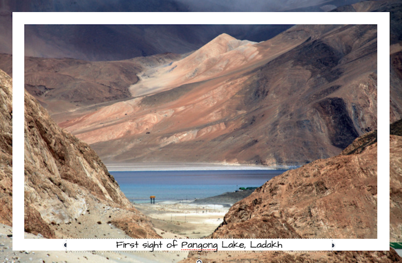 Pangong Lake Ladakh, ananya saluja, secondsguru