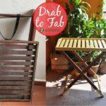 DrabToFab   Wooden table transformed
