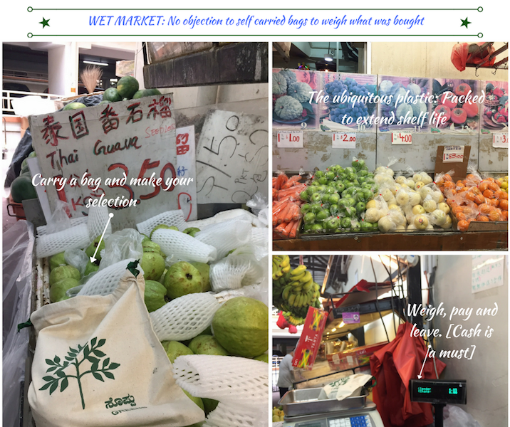 wet market shopping singapore fabric bags no plastic