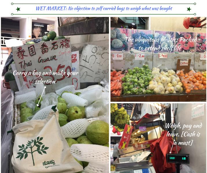 wet market shopping singapore fabric bags no plastic