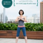 EcoBrands | Yin Yong Yoga and active wear collection for the mindful yogi. Featured here: Organic Lady Camisole and Bali Half Leggings