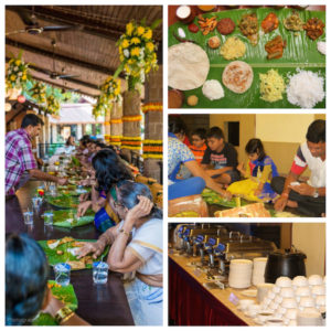 environment friendly wedding food serve ware