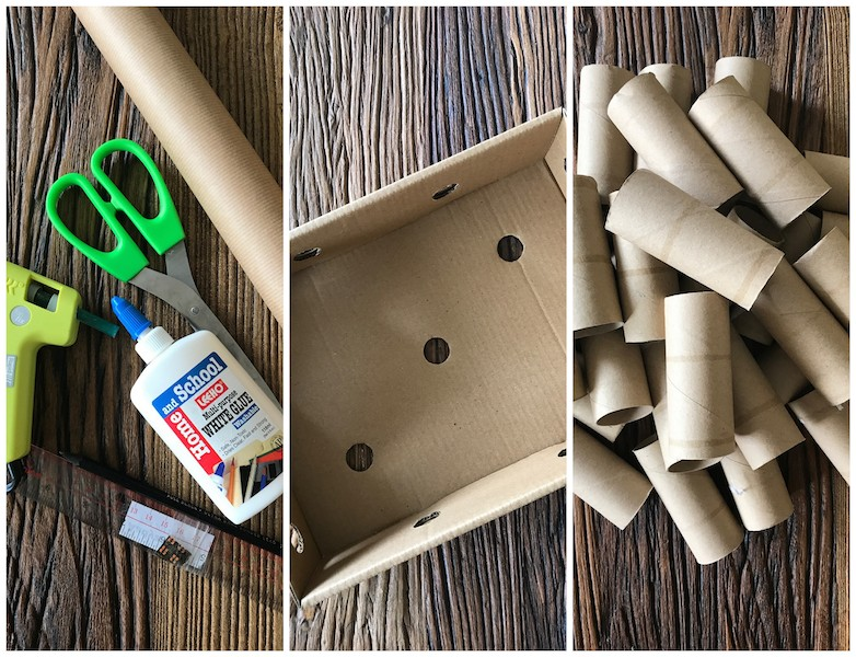 Diy Toilet Paper Roll Adventcalendar Raw Materials For 12