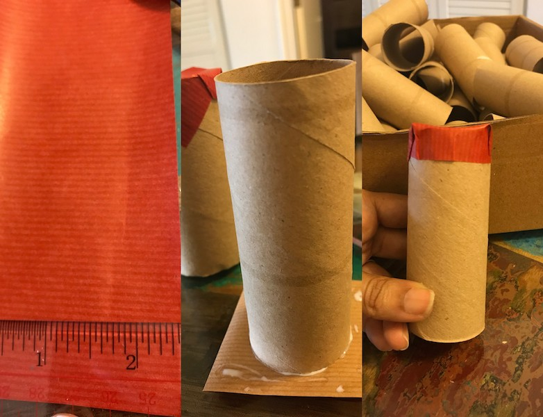 easy toilet paper roll diy advent calendar birthday christmas anniversary