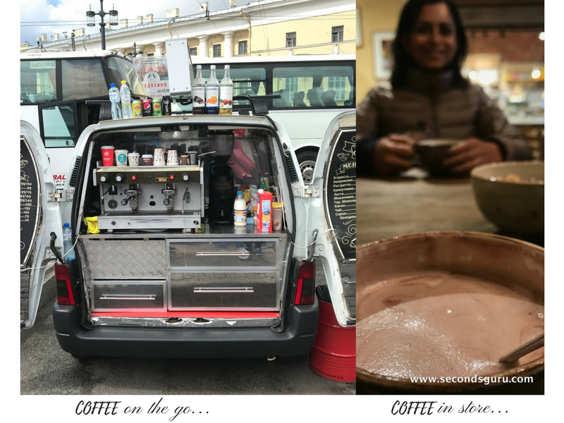 say no to plastic styrofoam for coffee