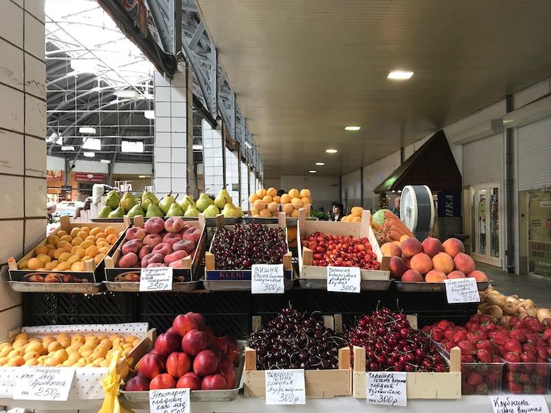local farmers market in st petersberg russia