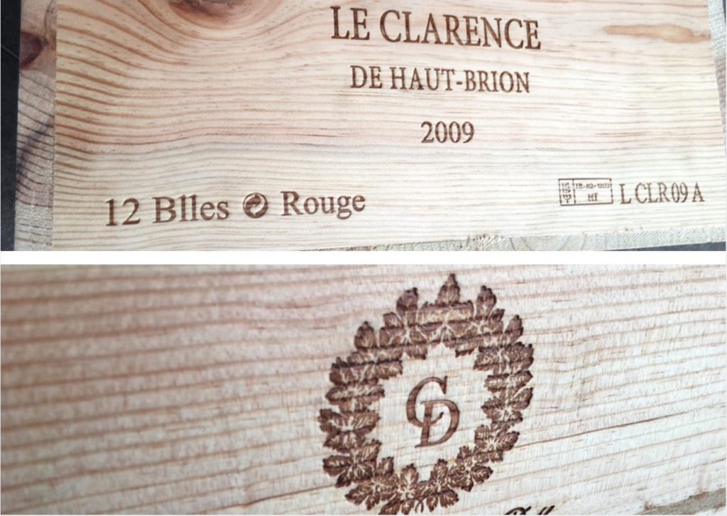 wine case etchings