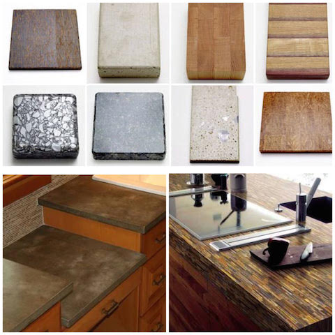 environment friendly kitchen counter tops