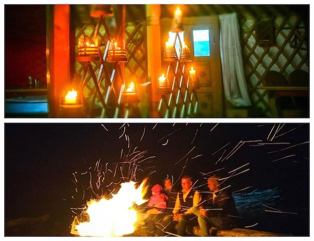 glamorous camping glamping in mongolia