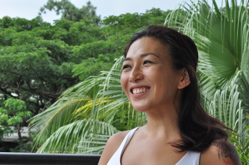 kristin khor pure yoga yoga teacher singapore